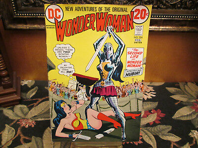 Wonder Woman Comic #204, First appearance of NUBIA 1973 – Fine