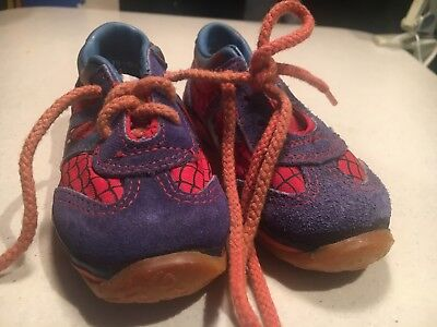 1980 Spider-man Shoes Size 5