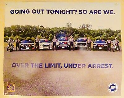 Connecticut State Police Poster (new)