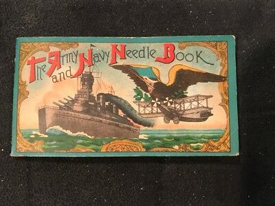 Vintage The Army and Navy Needle Book - Occupied Japan