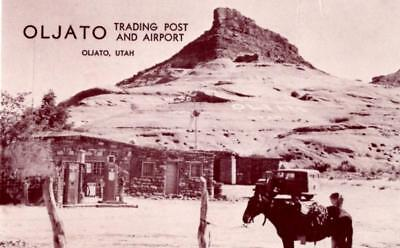 Oljato, Utah - The Trading Post and Airport - Gas-Oil-Navajo Rugs