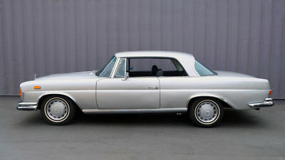 """1971 Mercedes-Benz 280SE 3.5 Coupe - Restored - Silver/Black - """"Behr"""" A/C W111 ~ Great """"Driver"""" ~ Becker Europa II Stereo ~ Sunroof ~ California"""