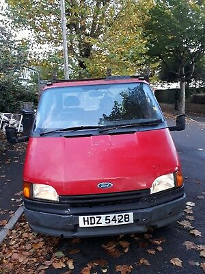 MK3/4 Ford Transit 190 2.5 DI  flat bed spares / repair not much work  to mot
