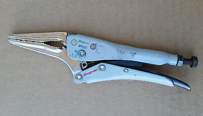 "Snap On LP6LN 6"" locking long nose pliers"