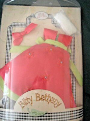 "Helen Kish Doll ""Bitty Bethany""  ""Tangerine Froth""  OUTFIT ONLY  Lady Kish  NIB"