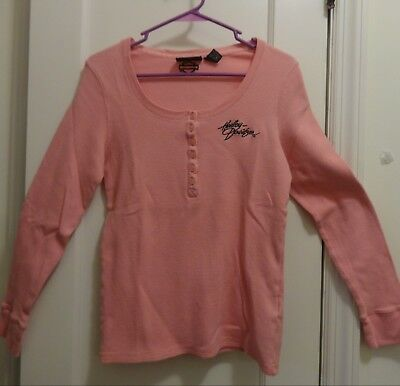 Ladies Thermal HARLEY DAVIDSON Long Sleeve top - Large