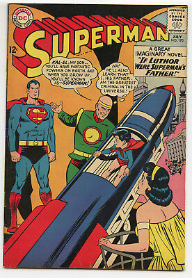 JERRY WEIST ESTATE: SUPERMAN #170 (DC 1964) FN Mission for President Kennedy