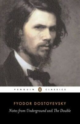 Notes from Underground and The Double by Dostoyevsky, Fyodor Paperback Book The