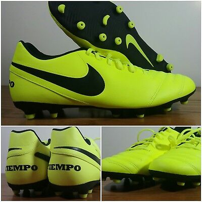new product dafe6 bd436 NEW Nike Tiempo Rio III FG soccer (Volt Black) 819233 -707 Men s