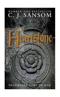 Heartstone (The Shardlake series) by Sansom, C. J. Book The Cheap Fast Free Post