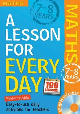 Maths Ages 7-8 (Lesson for Every Day) by Mills, Steve Mixed media product Book