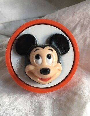 Walt Disney Night Light  Mickey Mouse Face  *general Electric  ~Works