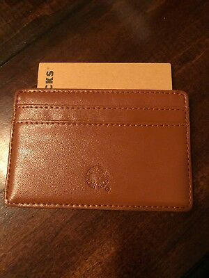 Starbucks 2018 Leather Wallet Limited Edition!!