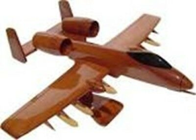 Mahogany Wood Desktop Model A-10 Warthog