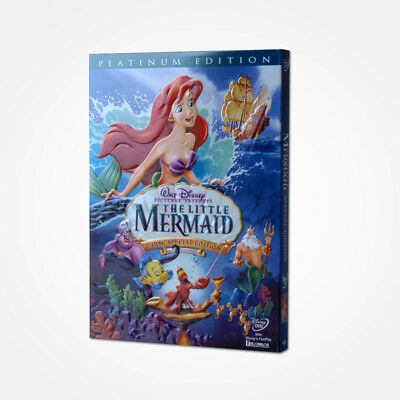 The Little Mermaid (DVD, 2006, 2-Disc Set) Animation Free Shipping From USA