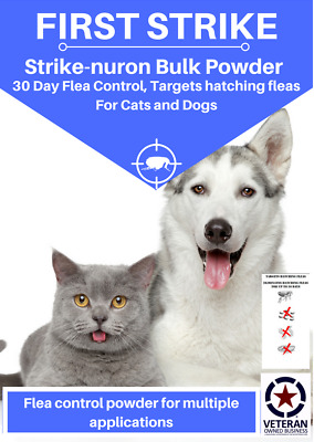 Flea Control for cat and dogs all sizes, bulk powder 6000 milligrams
