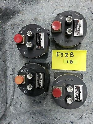 Lot of 4 Old Aircraft Mach Warning Switches  FS2B1B