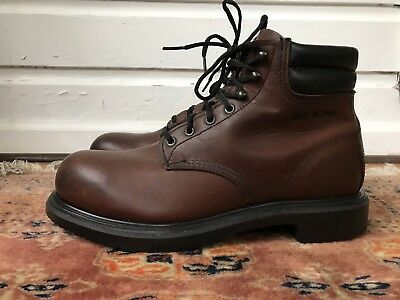 MINT Red Wing USA 2245 Electrical Hazard Steel Toe SuperSole Work Boots 10 D