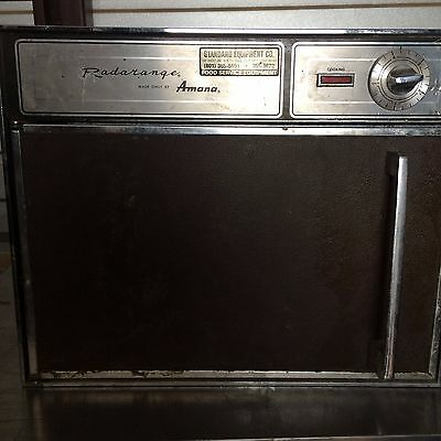 Commercial Restaurant Amana Radarange Microwave Oven 110 Volts