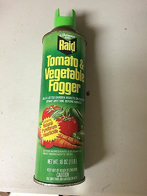(1) Raid Tomato & Vegetable Fogger