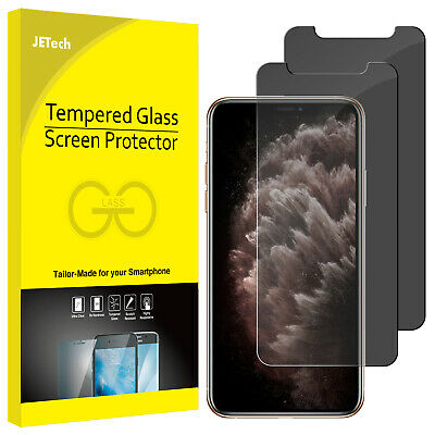 JETech Screen Protector for iPhone 11 Pro Max iPhone Xs Max Tempered Glass 2Pack