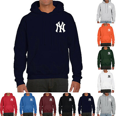 NY New York Yankees Hoodie Warm Fleece Pullover Sweatshirt Nap Team Uniform  0110 68536f09a3
