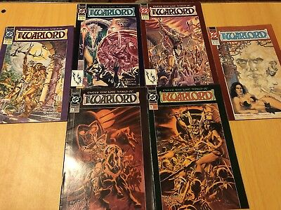 The Warlord #1 - 6 (1992) Mini-series DC Comics Return to Lost World Mike Grell