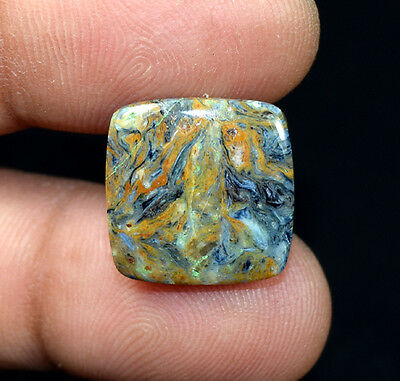 9.50 Cts. 100 % Natural Chatoyant Pietersite Cushion Cabochon Loose Gemstones