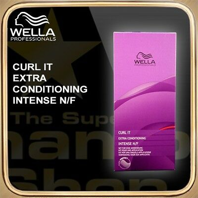 Wella Curl It Extra Conditioning Intense NF Kit SCHAMBOO Bonus-Packs zur Auswahl