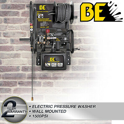 Pressure Washer Electric Wallmounted Commercial Grade Pump 1500PSI 6L/min Cars