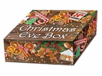 Christmas Eve Party Supplies Bag Fillers Favor Present Crate Design Gift Box