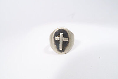 Alter Silber Ring Äthiopien AA6 Used Old Silver Ring Ethiopia bague Afrozip