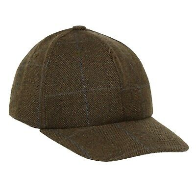 e4b88a0879d Wentworth TWEED Waterproof Baseball Cap Country Hat Breathable New Wool