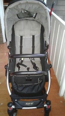 Steelcraft Pram - Cruiser Stroller only used at Granny's house. Black