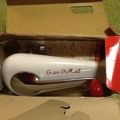 Viintage Retro Can-O-Mat Can Opener As New With Box And Leaflets
