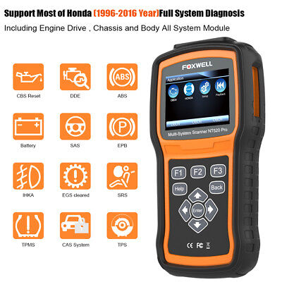 FOXWELL GT80 MINI Diagnostic Full Systems OBD Injector Coding ABS
