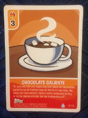 Penguin Club Card (Topps) Chocolate Caliente, used, as per photo