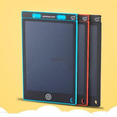 """8.5"""" inch LCD e-Writer Tablet Writing Drawing Memo Message Black Boogie Board;"""