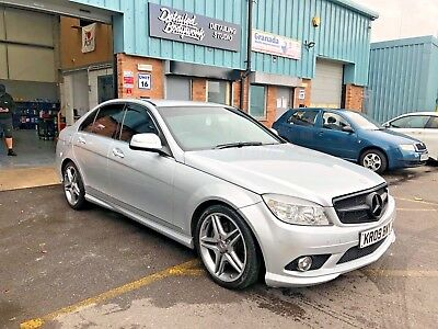 2009 Mercedes Benz C-Class C320 Amg Sport 3.0 Cdi 7G-Tronic Automatic (233Ps)
