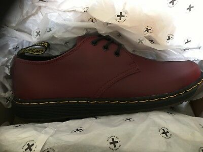 Dr Martens Cherry Red Cavendish Shoes Size 5