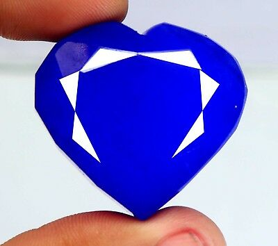 205.65 Ct EGL Certified Natural Blue Sapphire Finest Heart Shape Gemstone BN735