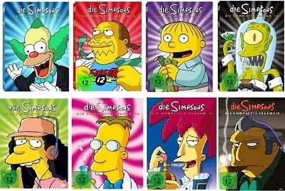 Die Simpsons Staffel 11-18 (11+12+13+14+15+16+17+18) DVD Set NEU OVP