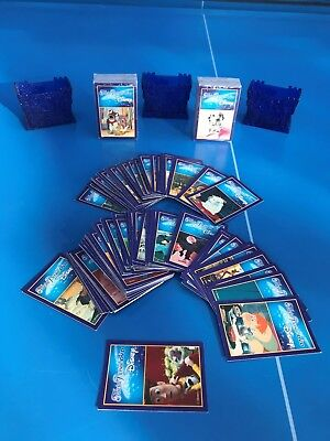 TRIVIAL PURSUIT Lot de 50 Cartes Jeu Edition DISNEY DVD 300 Question Recharge FR