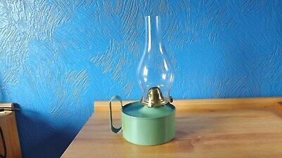 Very Unusual Wee Willie Winkie Style Oil Lamp