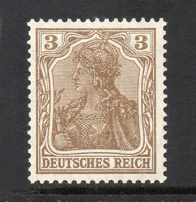 GERMANY REICH / EMPIRE 1905 Germania 3Pf Fine MINT NH SG.83 MNH
