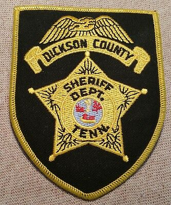 TN Dickson County Tennessee Sheriff Patch