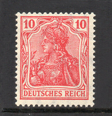 GERMANY REICH / EMPIRE 1911 Germania 10Pf Fine MINT NH SG.85a MNH