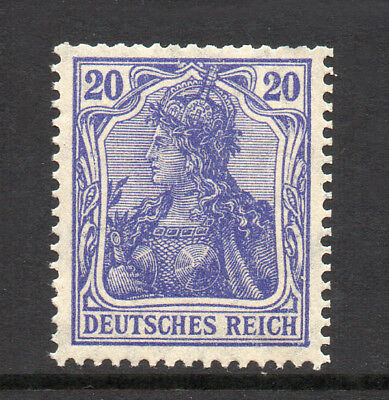 GERMANY REICH / EMPIRE 1915 Germania 20Pf Fine MINT NH SG.86d MNH