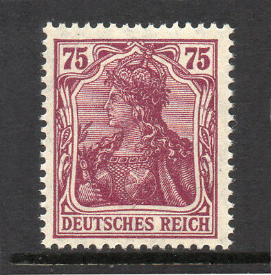 GERMANY REICH / EMPIRE 1920 Germania 75Pf Fine MINT NH SG.147a MNH