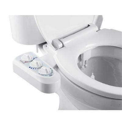 Fresh Cold Hot Water Spray Non-Electric Bathroom Bidet Toilet Seat Attachment